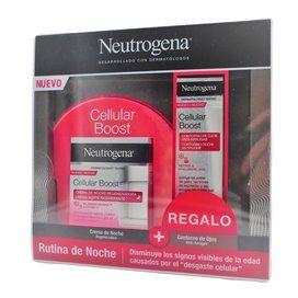 Neutrogena Cellular Boost Crema Noche 50Ml + Contorno Ojos 15Ml