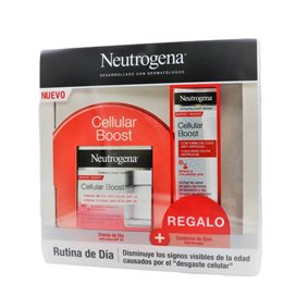 Neutreogena Cellular Boost Crema Dia Spf 20 50Ml + Contorno De Ojos Antiarrugas 15Ml