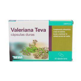 Valeriana Teva – 60 Capsulas Duras