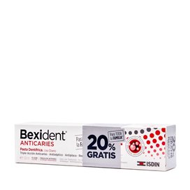 Bexident Anticaries Pasta Dentifrica 125Ml