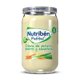 Nutriben Crema De Patata Puerro Y Zanahoria Potito 235G