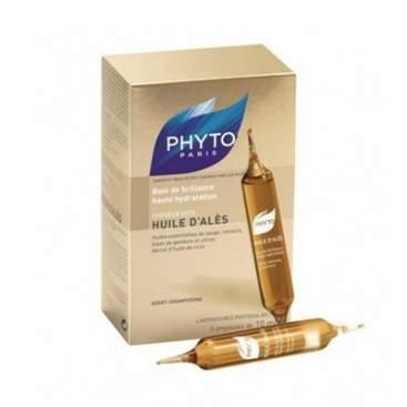 Phyto Huile D´Ales Baño de Brillo e Hidratacion 5 Ampollas BR