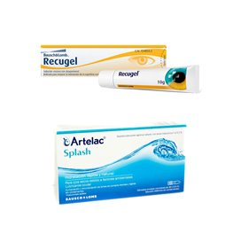 Recugel 10G + Artelac Splash 10 Ml