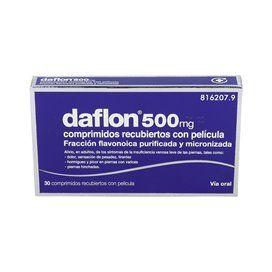 Daflon 500 500 Mg 30 Comprimidos Recubiertos