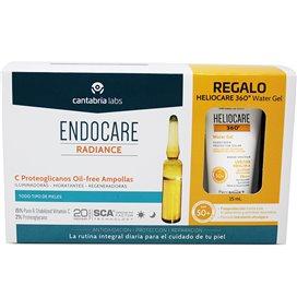 Endocare C Proteoglicanos Oil Free 30 Ampollas + Heliocare 360 Water Gel 1Ml