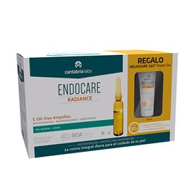 Endocare C Oil Free 30 Ampollas + Heliocare 360 Water Gel 15Ml