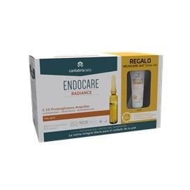 Endocare C20 Proteoglicanos 30 Ampollas + Heliocare 360 Water Gel 15Ml