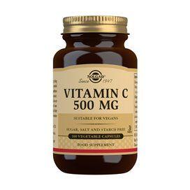 Solgar Vitamin C 500Mg 100 Capsulas Vegetales