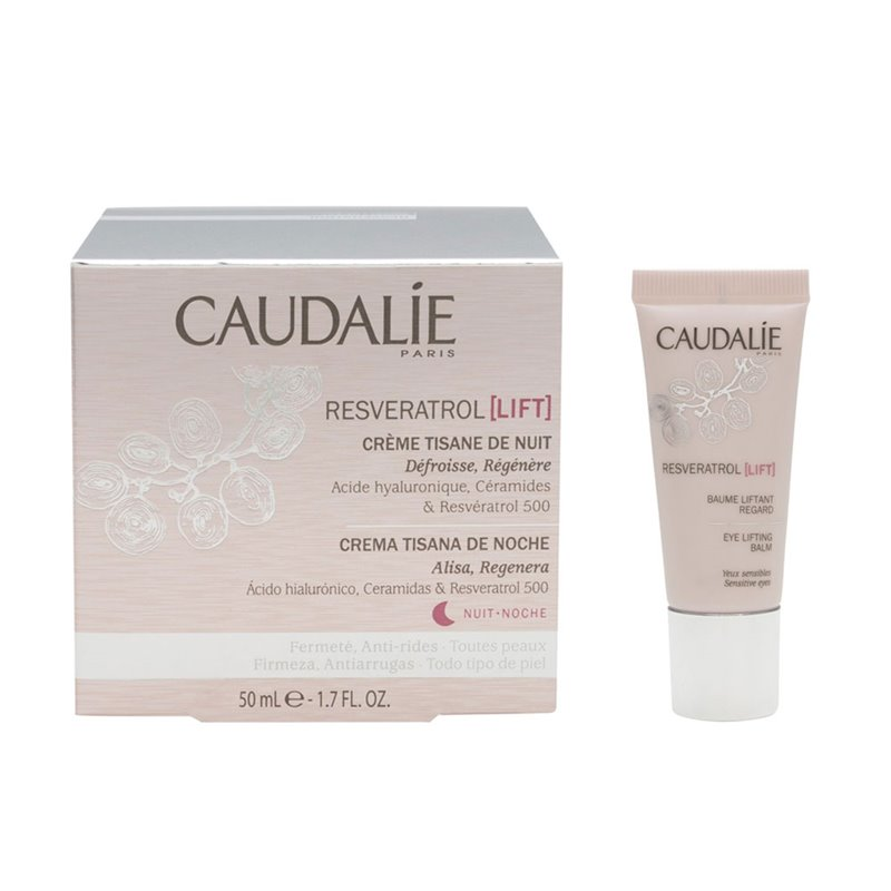 Caudalie Resveratrol Lift Cream Night Infusion 50ml Eye Contour 15ml Parafarmacia Online Com