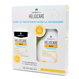 Heliocare 360 Pediatrics Mineral 50Ml + Atopic Locion Spray 250Ml