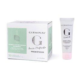 Germinal Prebioticos 30 Ampollas + Crema Manos U Yñas Fps15 50Ml