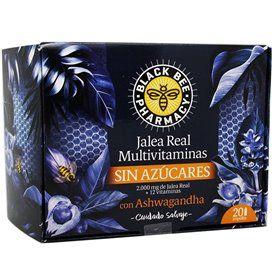 Black Bee Pharmacy Jalea Multivitaminas 20 Viales 10 Ml