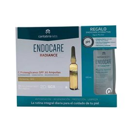 Endocare Radiance C20 Proteo 30 Ampollas Spf30 + Agua Micelar 100Ml